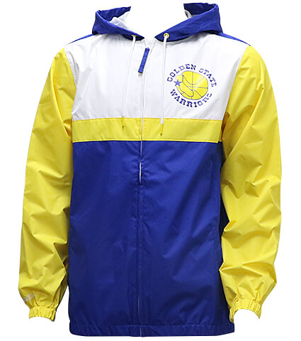 Mitchell&Ness Margin Of Victory Windbreaker ウォリアーズ/ロイヤル