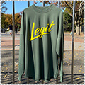 LEGIT Brush Up L/S オリーブ