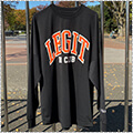 LEGIT Old School L/S 黒