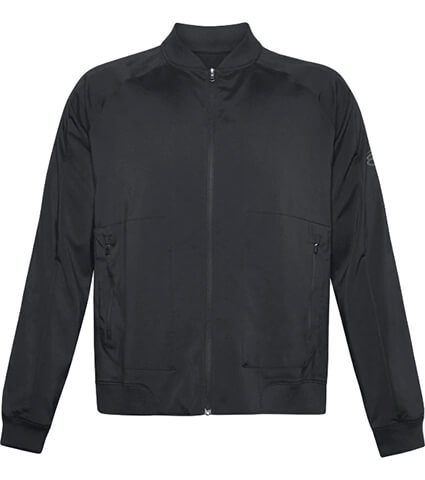 UNDER ARMOUR UA UNDRTD Woven Warmup Jacket 黒