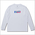 AKTR Multicolor Box Logo Sports L/S 白