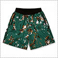 Arch Marbling Shorts 緑