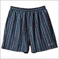 AKTR Tribe Stripe Short Wide Pants 黒
