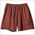 AKTR Tribe Stripe Short Wide Pants オレンジ