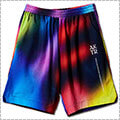 AKTR Crazy Spray Shorts 黒