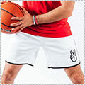 "Deuce Basketball Shorts ""Waistband Flip"" 白"