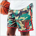"Deuce Basketball Shorts ""Waistband Flip"" カモ"