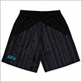 Arch Rough Stripe Shorts 黒