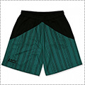 Arch Rough Stripe Shorts ティール