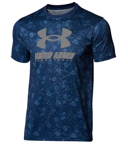 UNDER ARMOUR UA Tech Full Printed Tee アカデミー