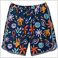[レディースサイズ]AKTR x MILKFED. Botanical Ball Shorts