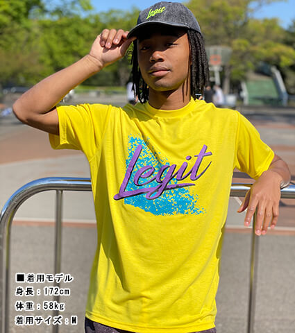 LEGIT Splash Tee 黒