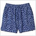 AKTR Melty Leopard Short Wide Pants